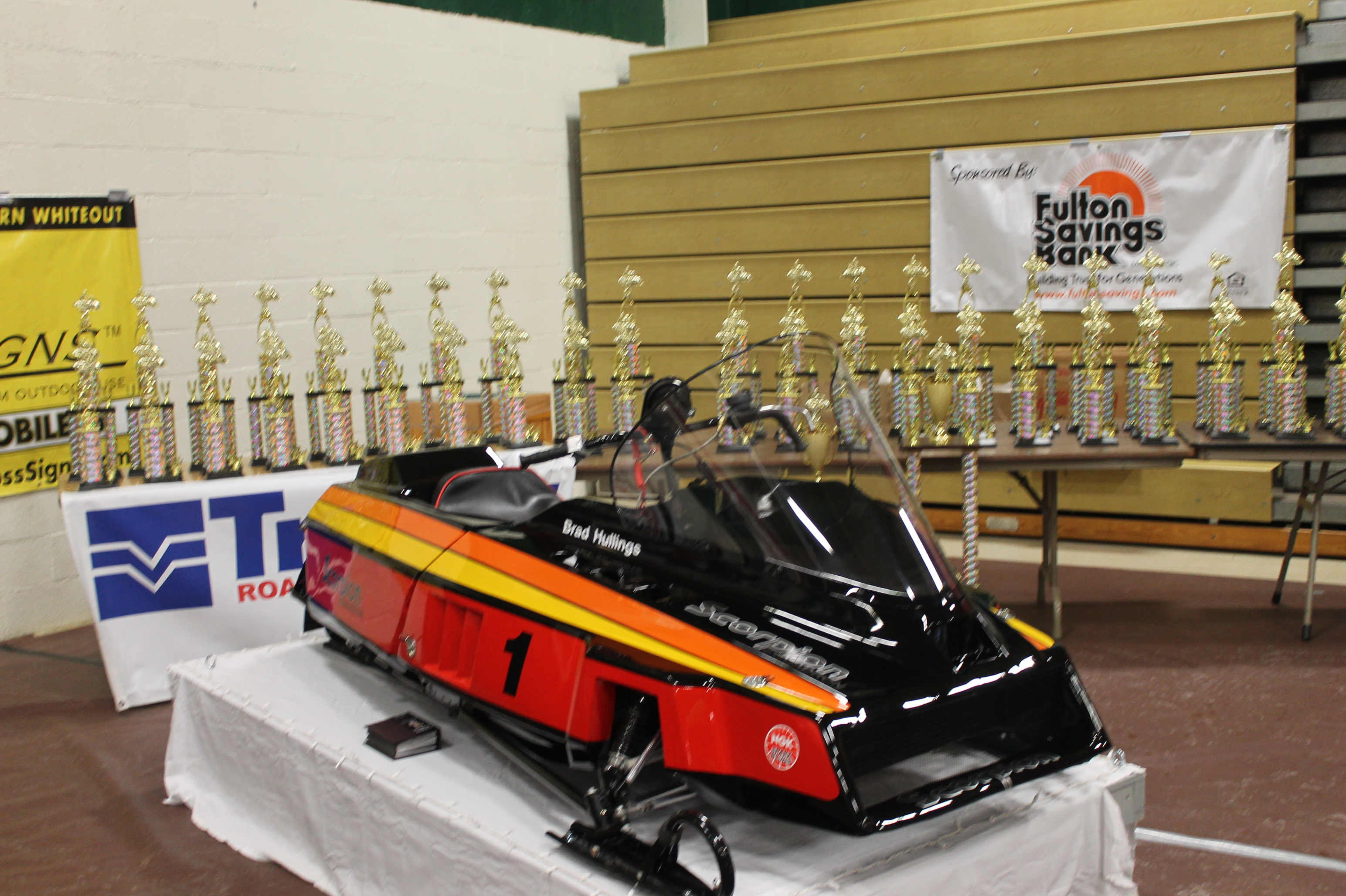 BEST OF SHOW WINNING SLED A SCORPION SUPER MOD